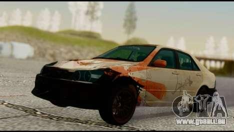 Toyota Altezza für GTA San Andreas linke Ansicht