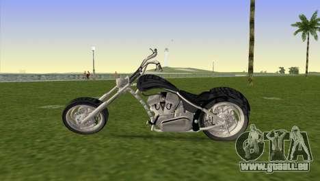 Hell-Fire v2.0 pour GTA Vice City sur la vue arrière gauche
