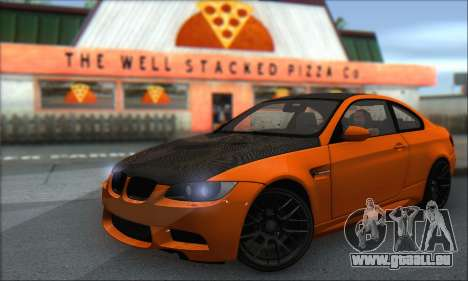 BMW M3 E92 Soft Tuning pour GTA San Andreas