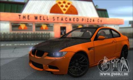 BMW M3 E92 Soft Tuning für GTA San Andreas