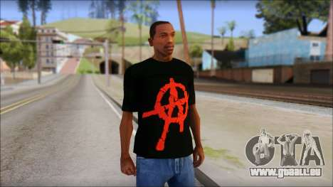 Anarchy T-Shirt Mod v2 pour GTA San Andreas
