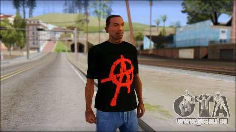 Anarchy T-Shirt Mod v2 für GTA San Andreas