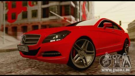 Mercedes-Benz CLS 63 pour GTA San Andreas vue de droite