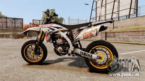 Yamaha YZF-450 v1.20 pour GTA 4 est une gauche