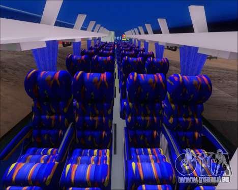Busscar El Buss 340 Bio Linatal pour GTA San Andreas vue de dessous
