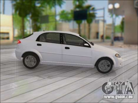 Chevrolet Lacetti für GTA San Andreas Innenansicht
