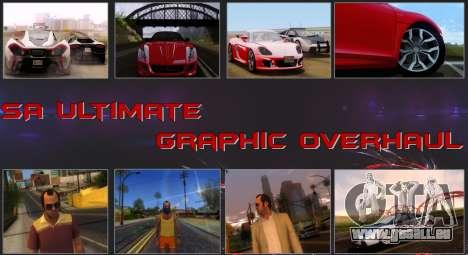 SA Ultimate Graphic Overhaul 1.0 Fix pour GTA San Andreas