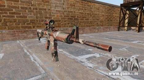 Automatique carabine MA Forêt Camo pour GTA 4
