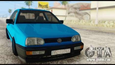 Volkswagen MK3 deLidoLu Edit pour GTA San Andreas