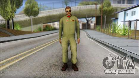 USAF Pilot On Base pour GTA San Andreas