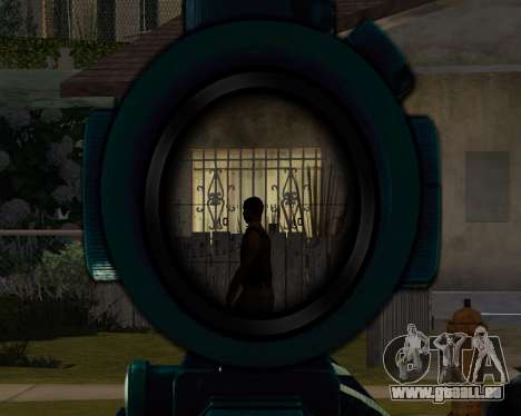 Sniper skope mod für GTA San Andreas zweiten Screenshot