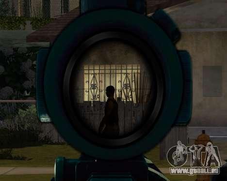 Sniper skope mod für GTA San Andreas dritten Screenshot