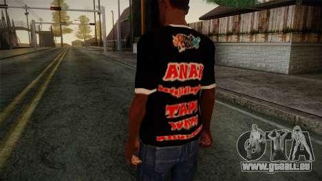 Endank Soekamti T-Shirt pour GTA San Andreas deuxième écran