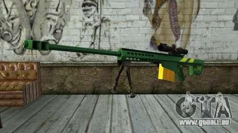 M82A3 Brazil Camo pour GTA San Andreas