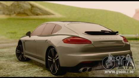 Porsche Panamera GTS für GTA San Andreas linke Ansicht