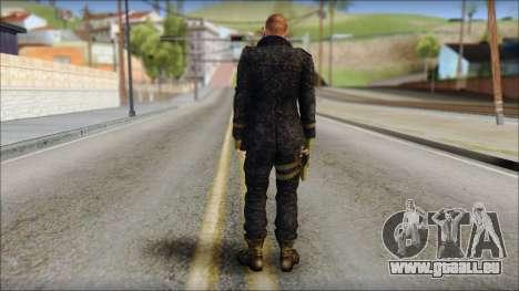 Jake Muller from Resident Evil 6 v1 pour GTA San Andreas deuxième écran