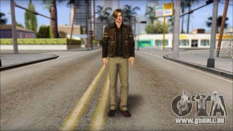 Leon Kennedy from Resident Evil 6 v2 pour GTA San Andreas