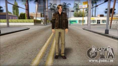 Leon Kennedy from Resident Evil 6 v2 für GTA San Andreas