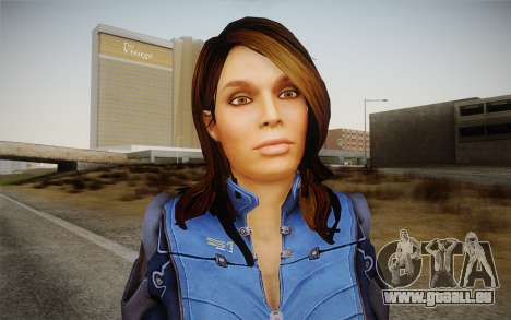 Ashley from Mass Effect 3 pour GTA San Andreas troisième écran