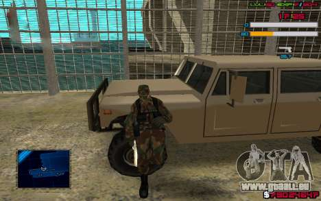 C-HUD by SampHack v.7 für GTA San Andreas zweiten Screenshot