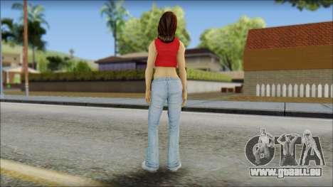 Young Street Girl pour GTA San Andreas deuxième écran