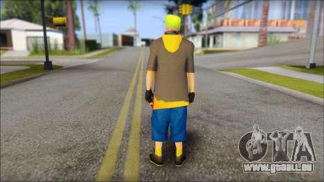 Urban DJ v3 pour GTA San Andreas deuxième écran