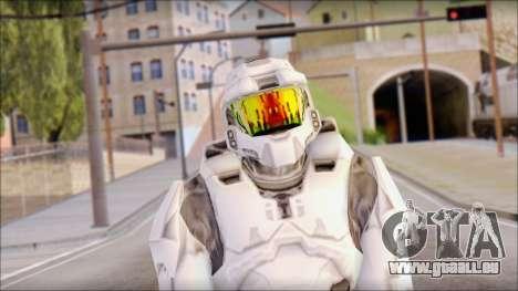 Masterchief White pour GTA San Andreas troisième écran