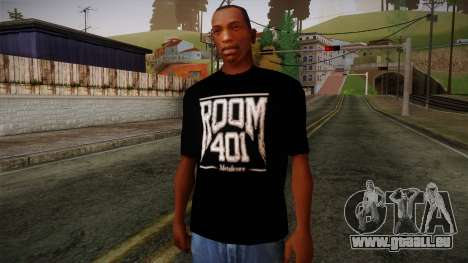 Room 401 T- Shirt pour GTA San Andreas