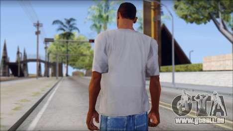 Mickey Mouse T-Shirt für GTA San Andreas zweiten Screenshot