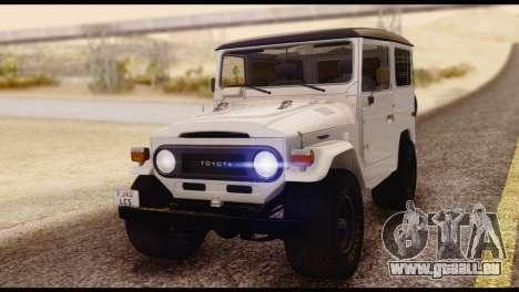 Toyota Land Cruiser (FJ40) 1978 für GTA San Andreas