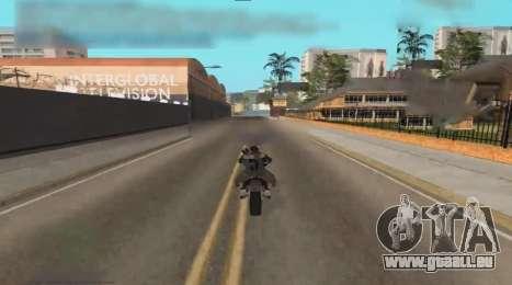 Unfreeze pour GTA San Andreas deuxième écran
