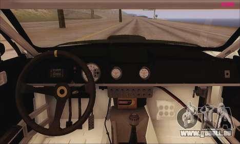 Ford Mustang GTR für GTA San Andreas Rückansicht