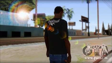 Volcom T-Shirt für GTA San Andreas zweiten Screenshot