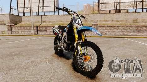 Yamaha YZF-450 v1.14 pour GTA 4