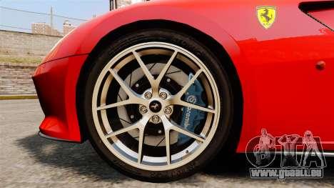 Ferrari 599 GTO PJ4 pour GTA 4 Vue arrière