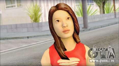 Young Street Girl pour GTA San Andreas troisième écran