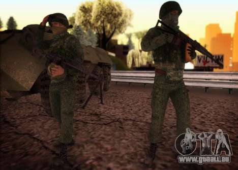Angriff der special forces der Innenraum. für GTA San Andreas dritten Screenshot