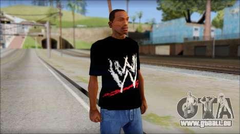 WWE Logo T-Shirt mod v2 für GTA San Andreas