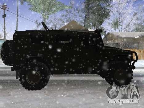 GAZ 2975 Tigre pour GTA San Andreas vue de droite