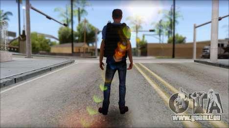 Skin Civil v1 pour GTA San Andreas troisième écran
