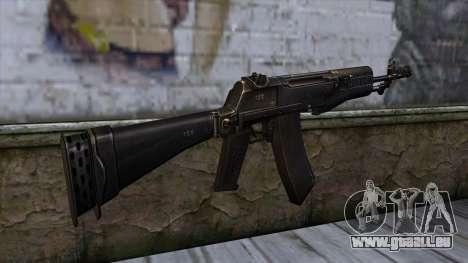 AN94 from CSO NST für GTA San Andreas zweiten Screenshot