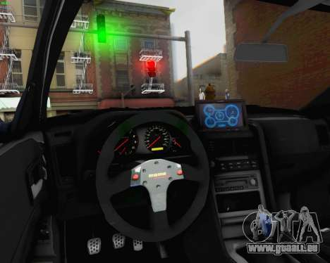 Nissan Skyline R34 Fast and Furious 4 für GTA San Andreas obere Ansicht