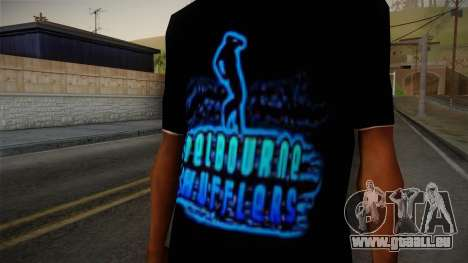 Melbourne Shuffle T-Shirt pour GTA San Andreas troisième écran