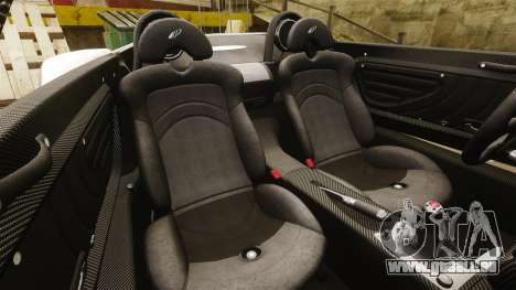 Pagani Zonda C12S Roadster 2001 v1.1 PJ2 pour GTA 4 est un côté