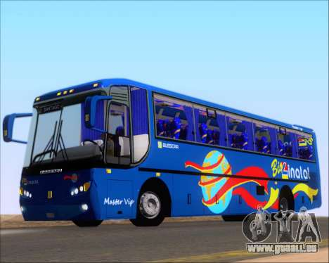Busscar El Buss 340 Bio Linatal für GTA San Andreas Seitenansicht