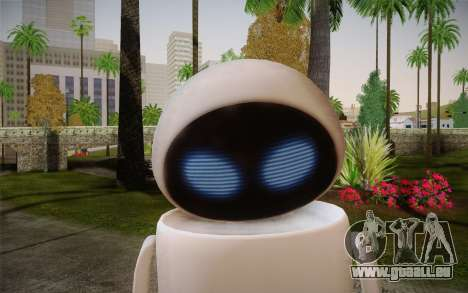 Eve Skin pour GTA San Andreas troisième écran