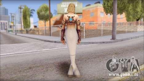 Mermaid Salmon Tail pour GTA San Andreas deuxième écran