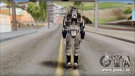 Masterchief Black from Halo für GTA San Andreas zweiten Screenshot
