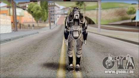 Masterchief Black from Halo pour GTA San Andreas deuxième écran