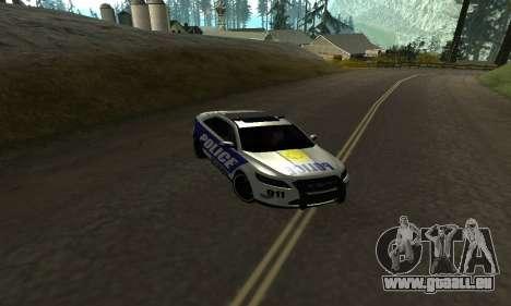 Ford Taurus HSO Police für GTA San Andreas